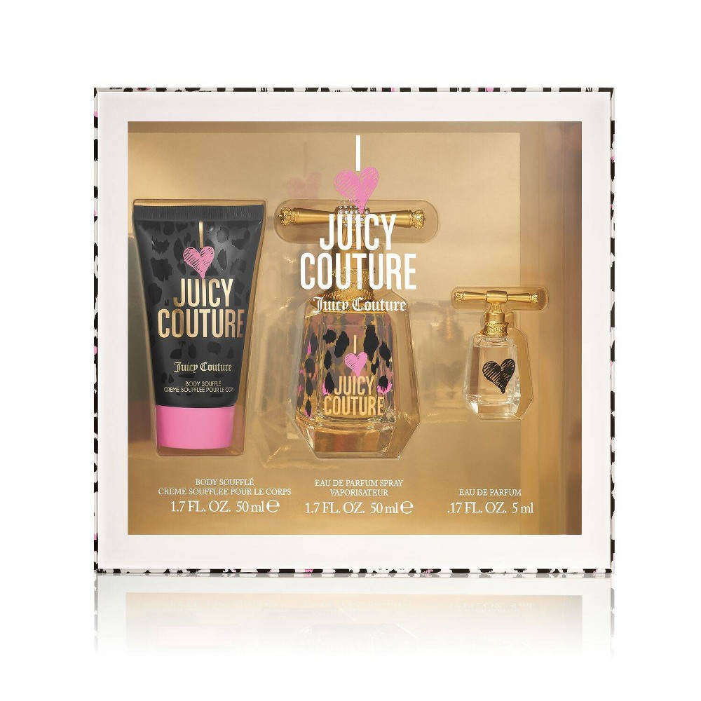 Image of Women's Juicy Couture I Love Juicy Couture Perfume Gift Set - 3pc