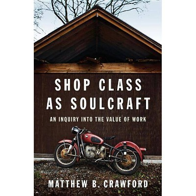Shop Class as Soulcraft - by  Matthew B Crawford (Hardcover)