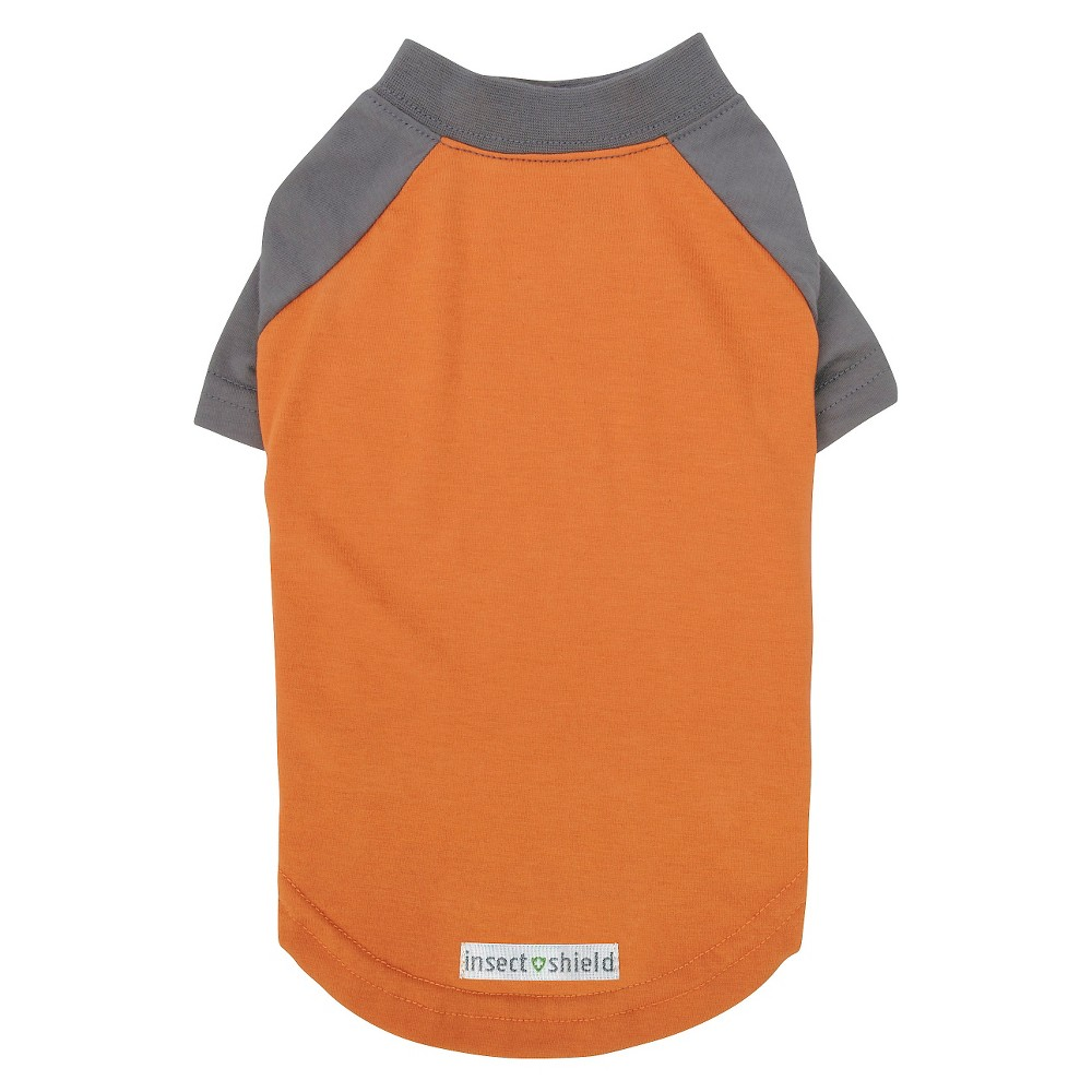 Insect Shield Premium Dog Tee - Carrot - 32in-34in