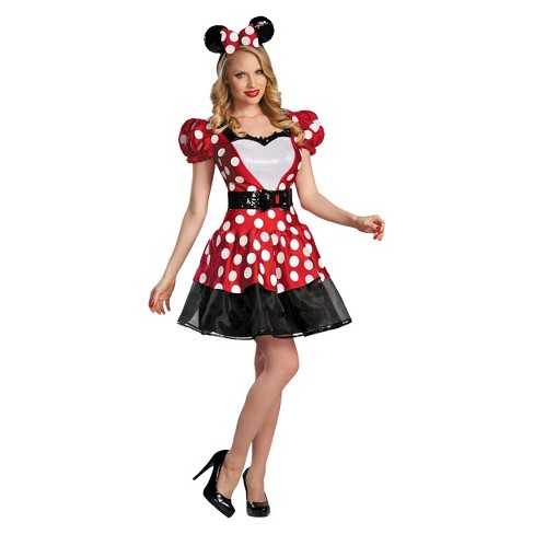 Women s Minnie Costume Red   Target aa180b1ed