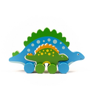 Big and Little Push/Pull Stego Toddler Toy