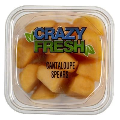 Crazy Fresh Cantaloupe Spears - 15oz