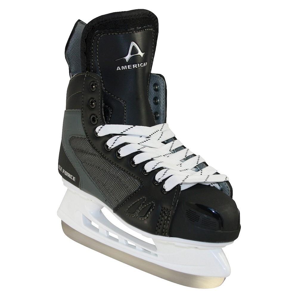Boys American Ice Force Hockey Skate - Black (1)