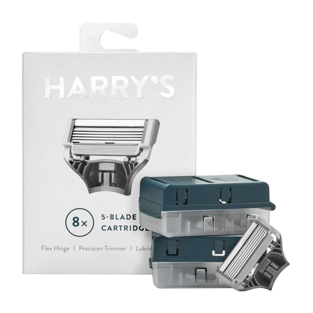 Image of Harry's Men's Blade Razor Refill Cartridges - 8ct