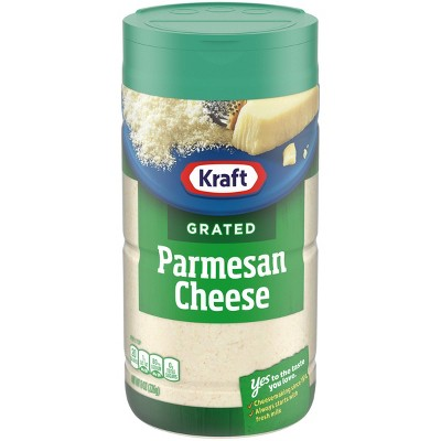 Kraft 100% Grated Parmesan Cheese 8oz