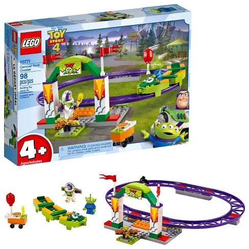 LEGO 4+ Disney Toy Story 4 Carnival Thrill Coaster 10771 - image 1 of 4