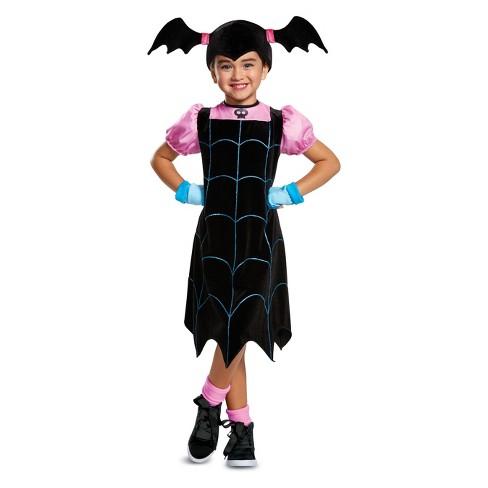 toddler girls vampirina classic halloween costume 3t 4t