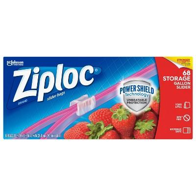 Food Storage Bags: Ziploc Slider