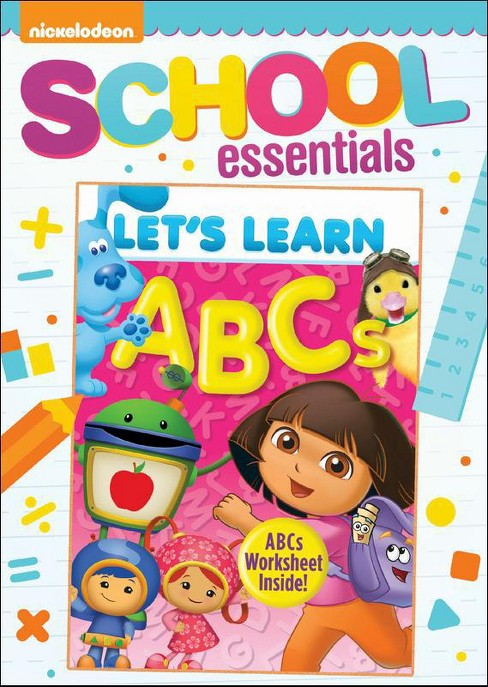 Nickelodeon: Let's Learn - ABCs (dvd_video) - image 1 of 1