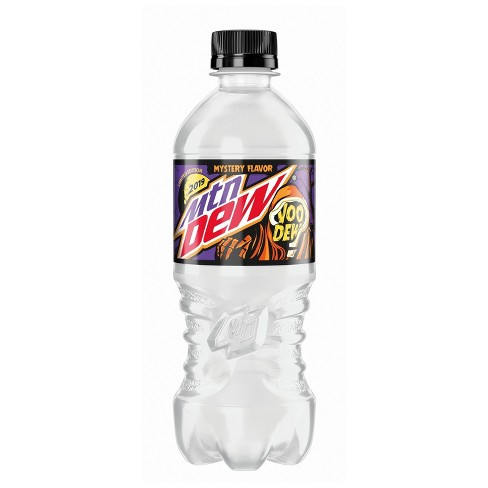 Mountain Dew Voodew 20 oz Bottle Limited Edition