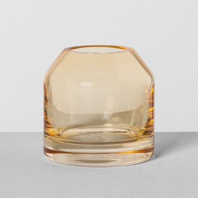 Mini Glass Jug Vase - Yellow - Hearth & Hand™ with Magnolia