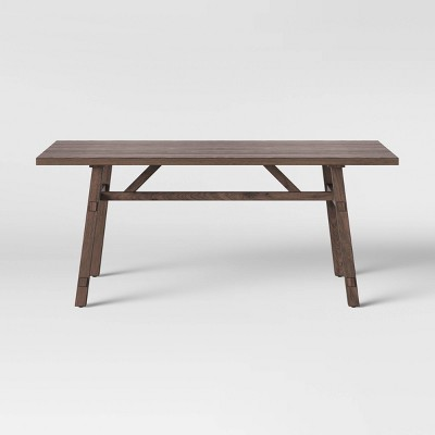 """72"""" Bourne Base Dining Table Brown - Threshold™"""