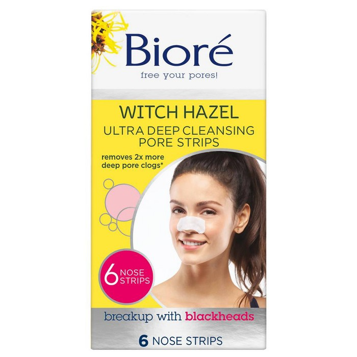 Biore Deep Cleansing Pore Nose Strips 6 ct - image 1 of 1
