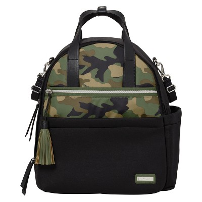 Skip Hop NOLITA Neoprene Diaper Backpack - Black/Camo