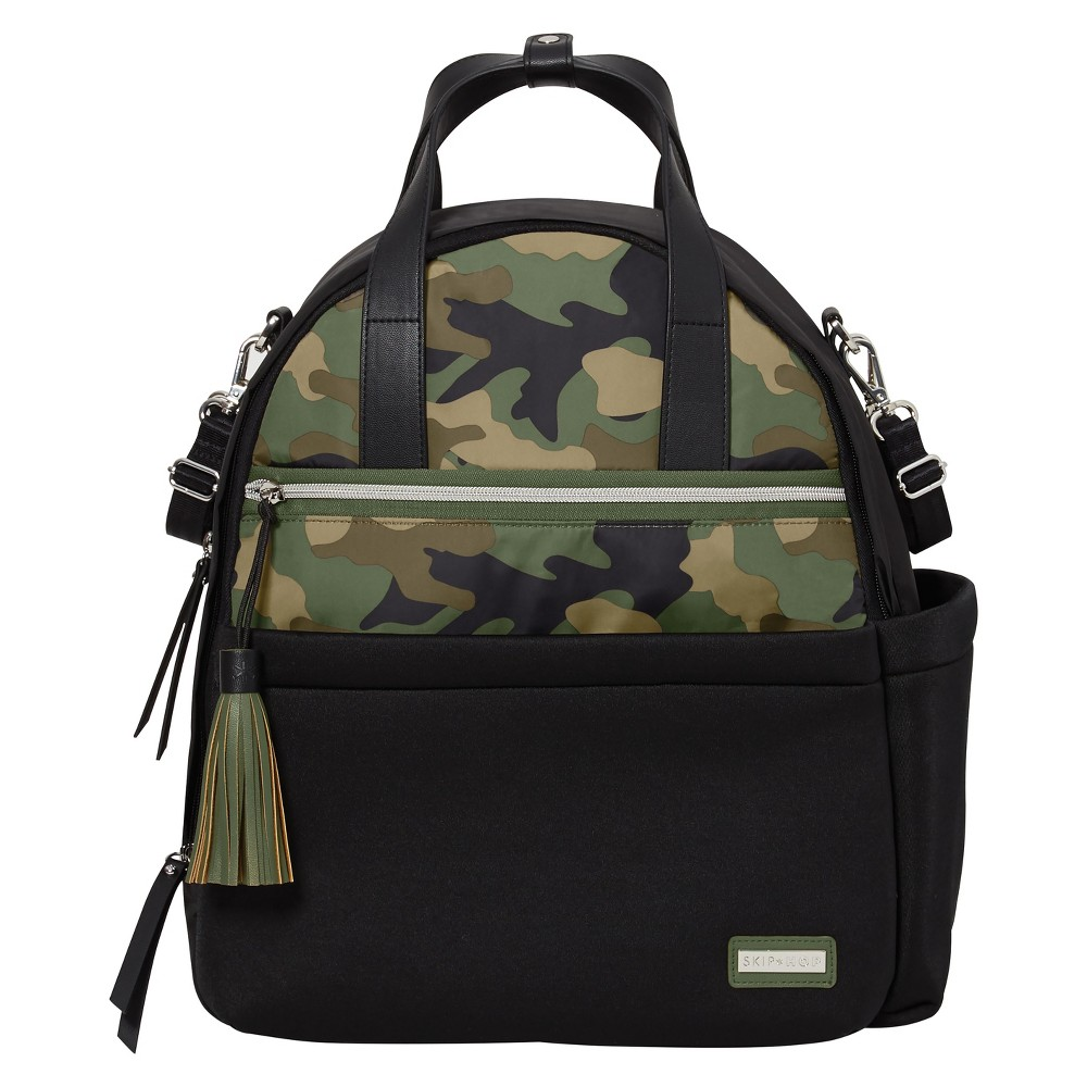 Skip Hop Nolita Neoprene Diaper Backpack - Black/Camo, Camo 1