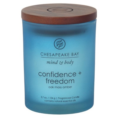 Small Jar Candle Oak Moss Amber 3.7oz - Chesapeake Bay Candle®