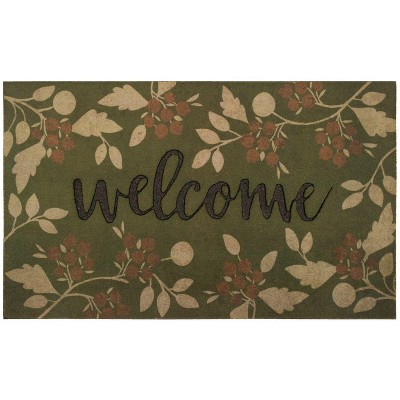 1'6 X2'6  Floral Doormats Green - Mohawk
