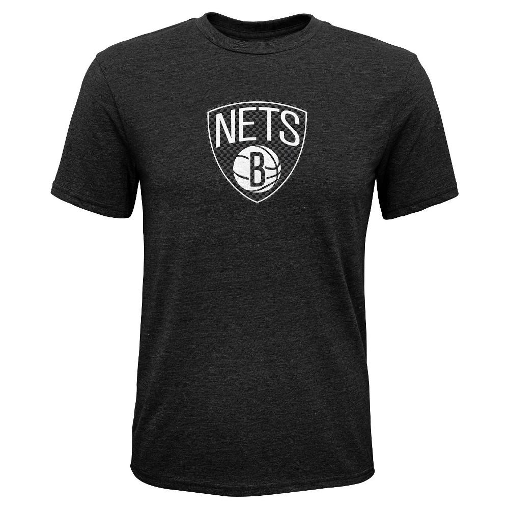 Brooklyn Nets Boys' Buzzer Beater Gray Performance T-Shirt XL, Multicolored