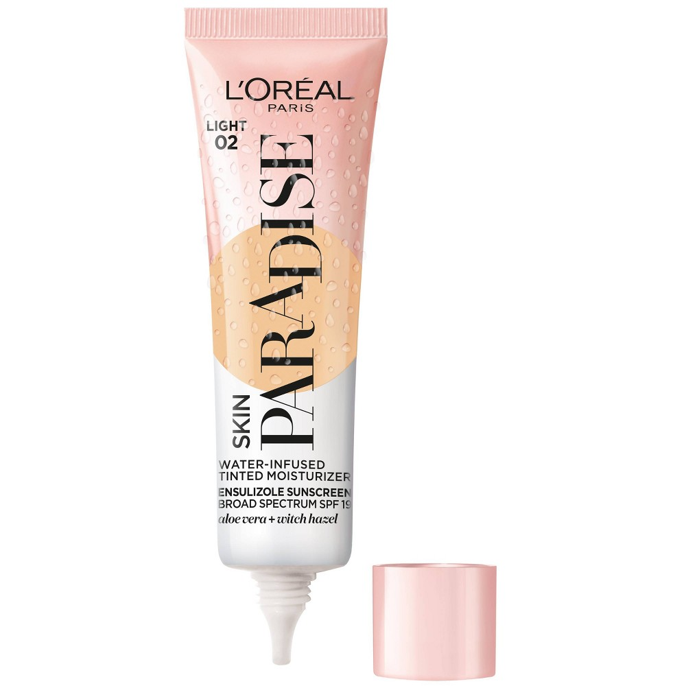 Reviews L'Oreal Paris Skin Paradise Water Infused Tinted Moisturizer with SPF 19 -  - 1 fl oz