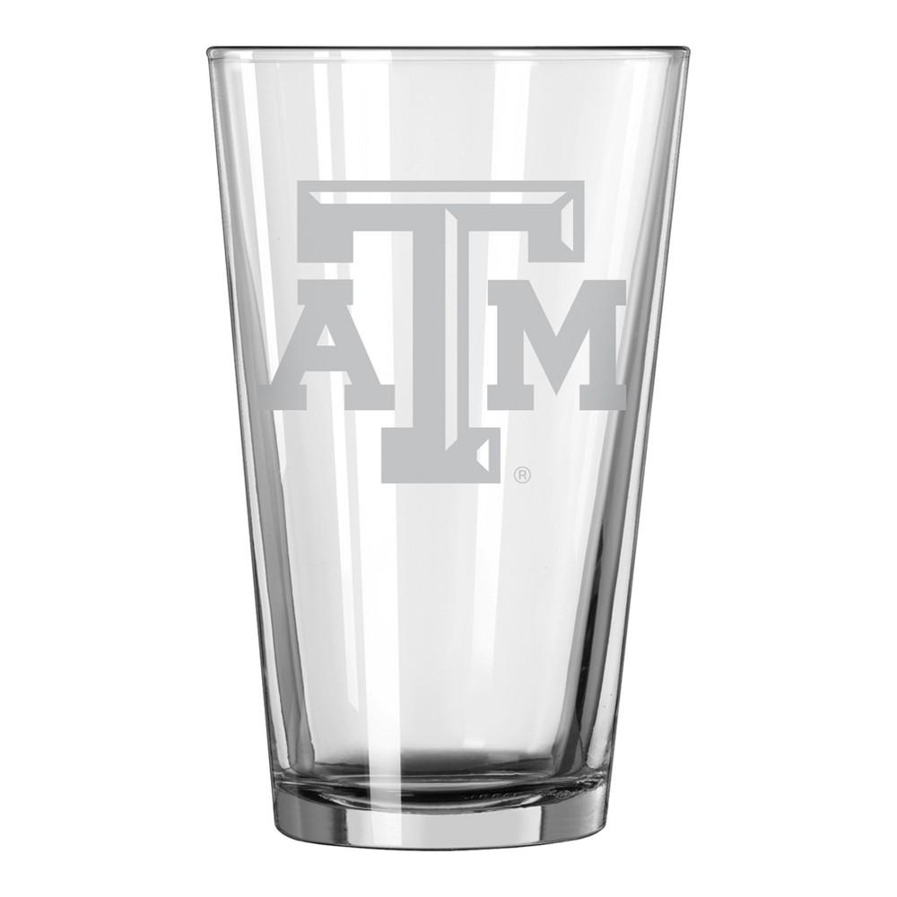 NCAA Texas A&m Aggies Single Boxed Pint Glass - 16oz
