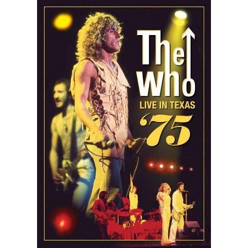 The Who: Live in Texas (DVD)(2012) - image 1 of 1