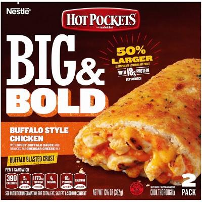Hot Pocket Big & Bold Buffalo Style Chicken - 13.5oz