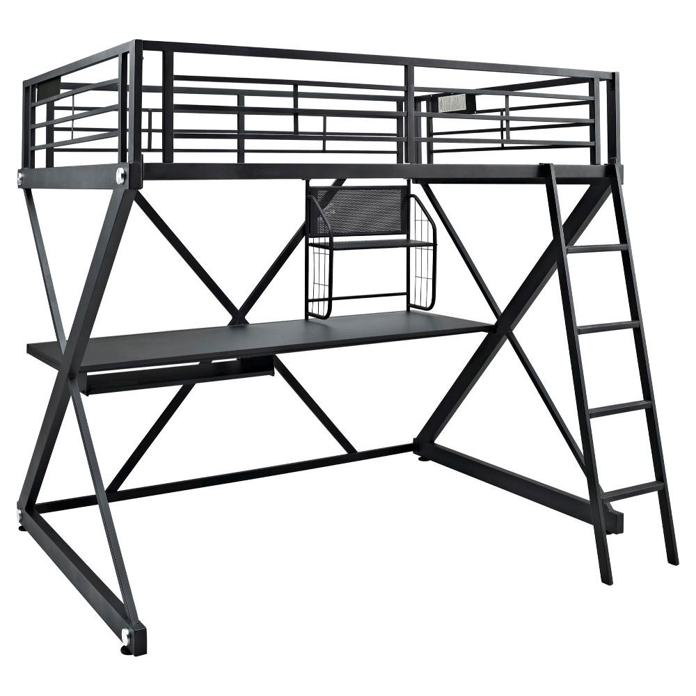 Image of Full Zayne Loft Bed - Powell Company