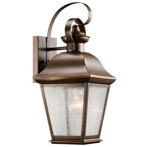 "Kichler 9708 Mount Vernon Single Light 17"" Tall Outdoor Wall Sconce - image 1 of 1"