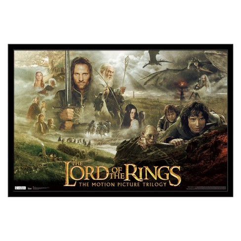 Lord Of The Rings - Trilogy Framed Poster Trends International - image 1 of 5