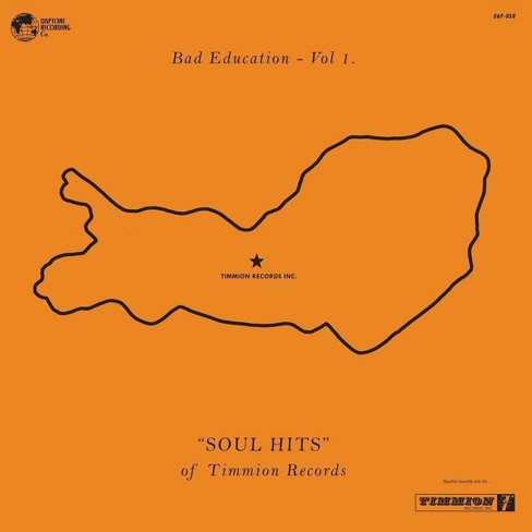 VARIOUS ARTISTS - Bad Education Vol. 1: The Soul Hits Of Timmion Records (CD) - image 1 of 1