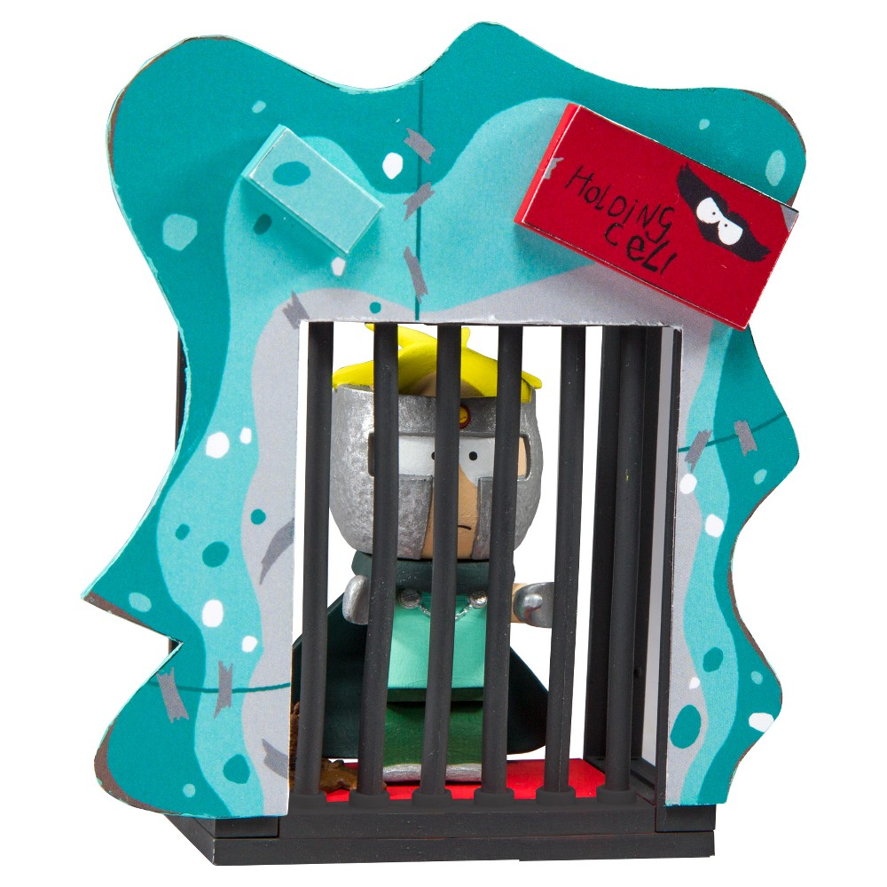 South Park Holding Cell Micro Building Sets