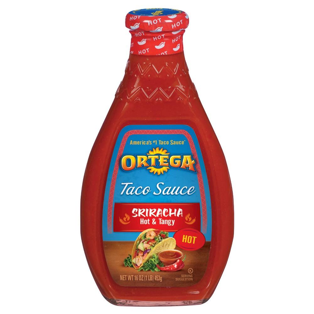 Ortega Taco Sauce Sriracha Hot 16 oz