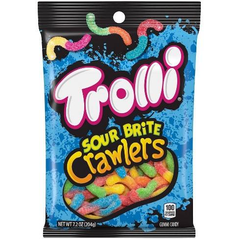 Trolli Sour Brite Crawlers Gummi Worms - 7.2oz - image 1 of 2