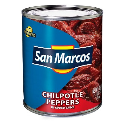 San Marcos Chipotle Peppers - 28oz
