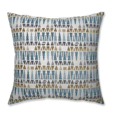 Sky Oversize Square Throw Pillow Blue - Pillow Perfect