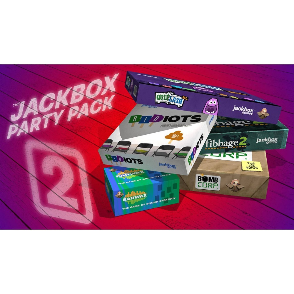The Jackbox Party Pack 2 - Nintendo Switch (Digital)
