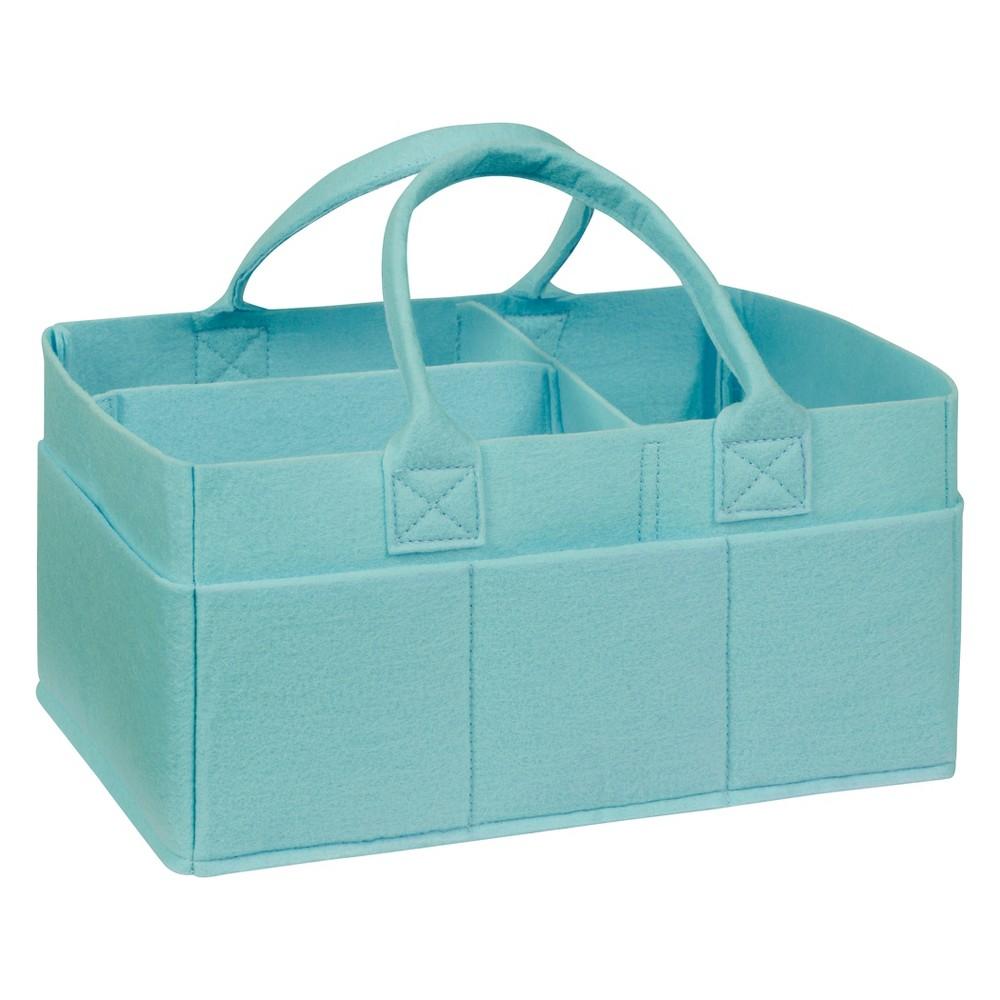 Trend Lab Felt Storage Caddy - Aqua (Blue)