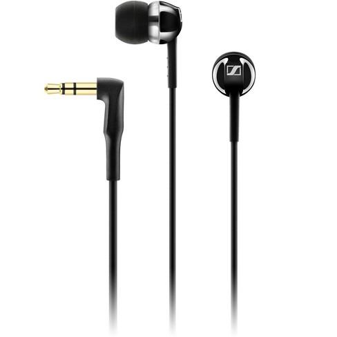 Sennheiser CX 100 Closed-Back In-Ear Earphones, Black - image 1 of 2