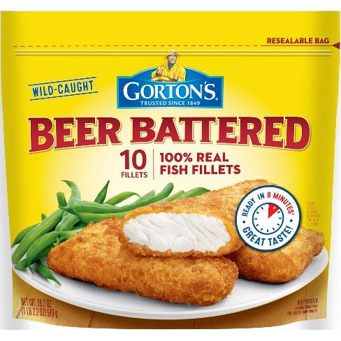 Gorton's Beer Battered Fish Fillets - 18 2oz