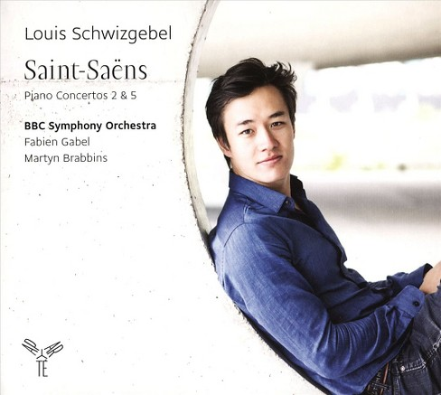 Louis schwizgebel - Saint saens:Piano ctos nos 2 & 5 (CD) - image 1 of 1