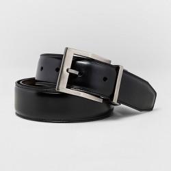 Men's SWISSGEAR Reversible Contemporary Buckle Belt - Black/Brown