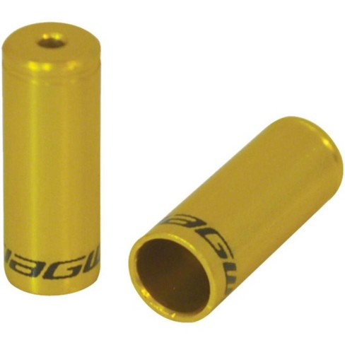 Jagwire End Cap Hop-Up Kit 4mm Shift and 5mm Brake Gold - image 1 of 1