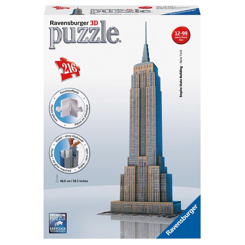 Empire State Building 3D Puzzle 216pc