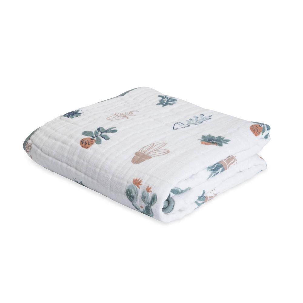 Image of Little Unicorn 4-Layer Cotton Muslin Quilt - Prickle Pots