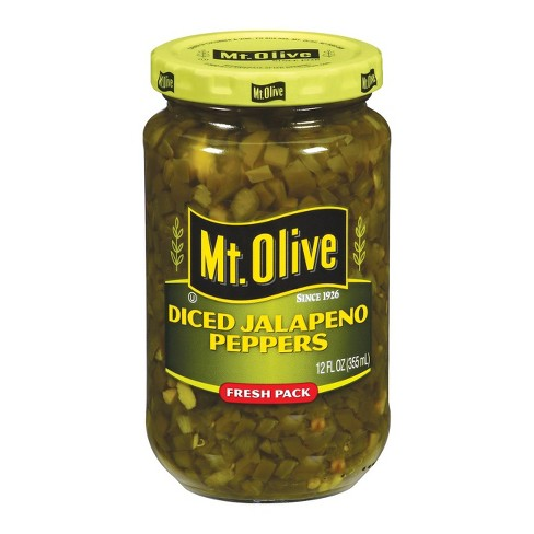 Mt. Olive® Diced Jalapeno Peppers - 12oz - image 1 of 1