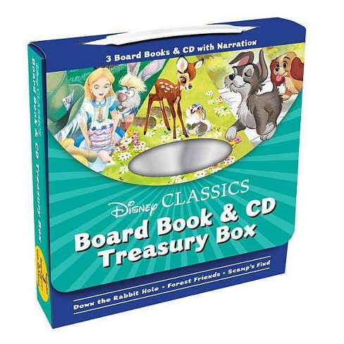 Disney Classics Board Book & CD Treasury Box - (Mixed media product) - image 1 of 1