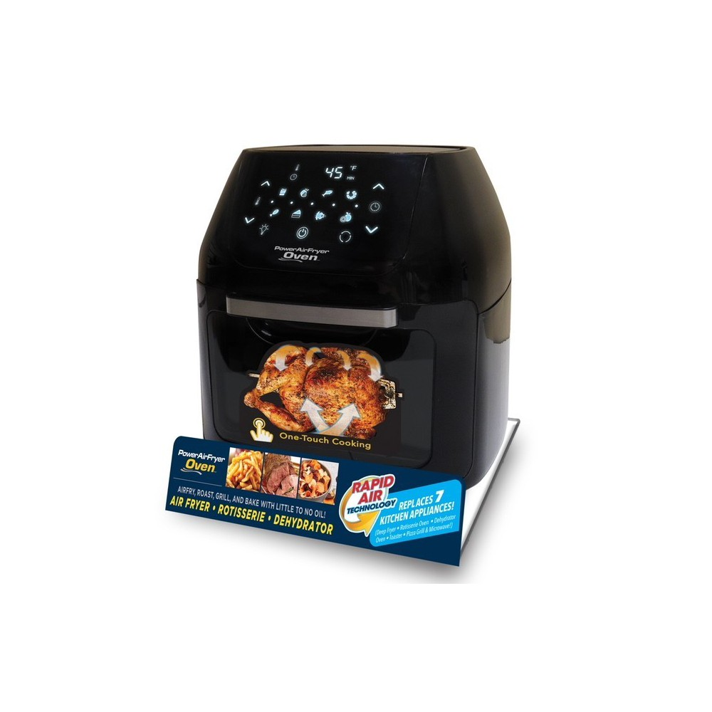 As Seen on TV 6qt Digital Power Air Fryer Oven, Black 53134235