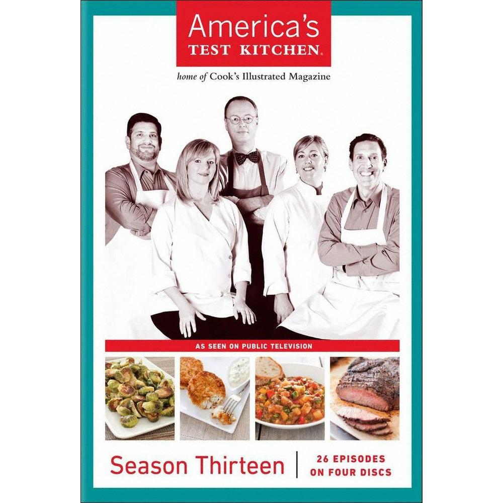 America's test kitchen:Season 13 (Dvd)