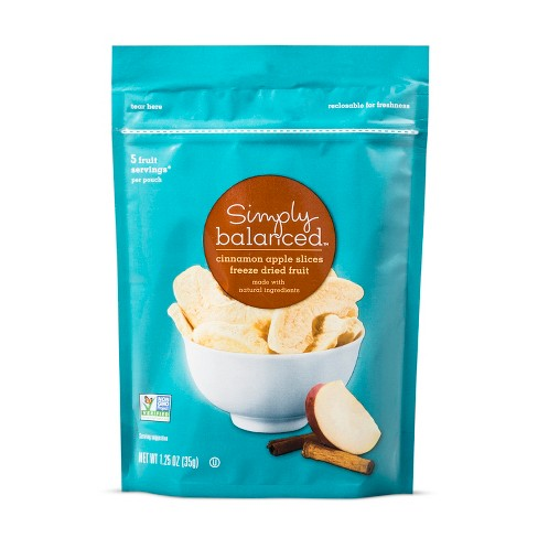 Freeze Dried Cinnamon Apples - 1.25oz - Simply Balanced™ - image 1 of 1