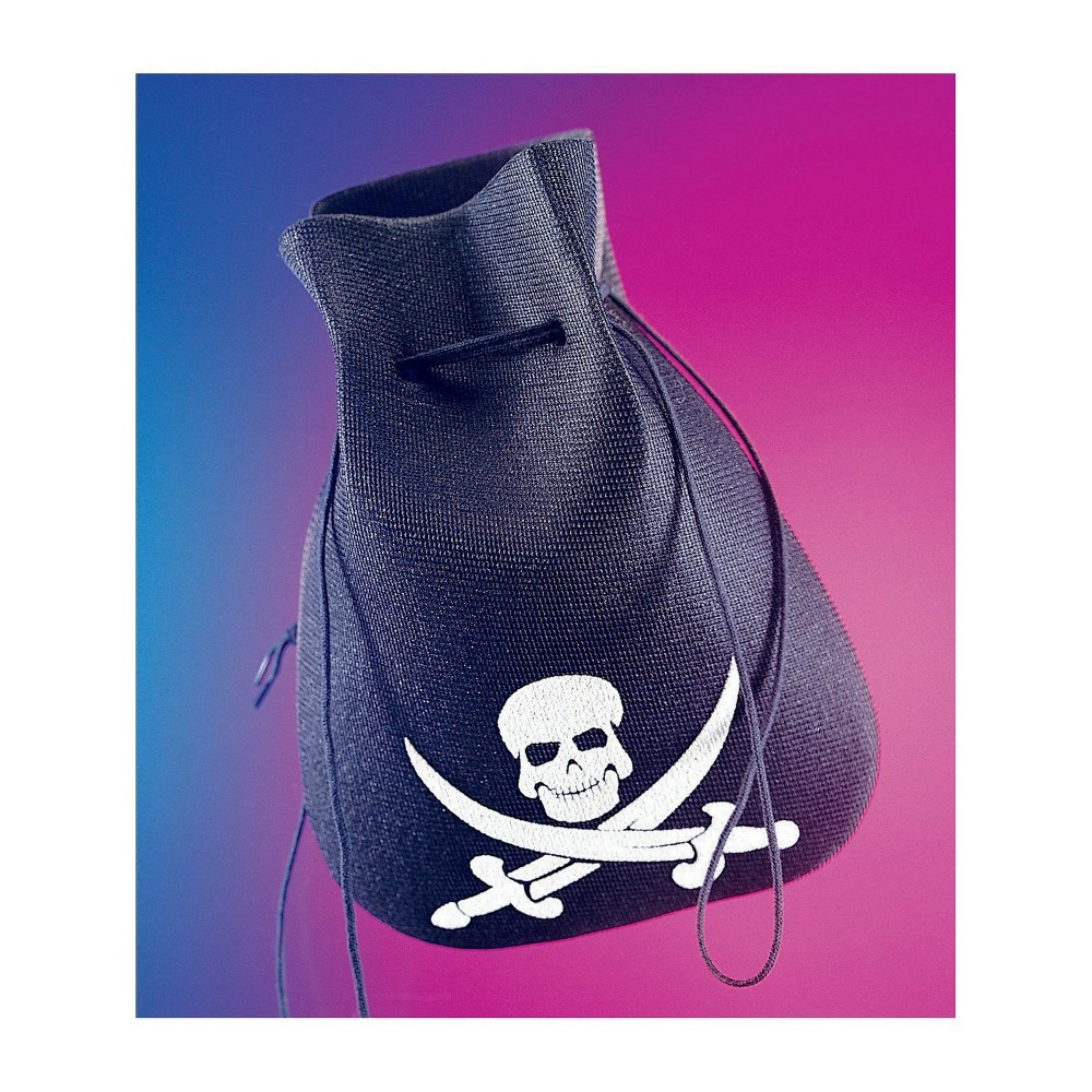 Men's Pirate Pouch Halloween Accessory Rubies, Multi-Colored